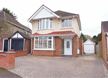 Thumbnail 3 bed detached house for sale in Tismeads Crescent, Swindon