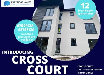 2 bed flat to rent in Cross Court, 2351 Coventry Road, Birmingham B26