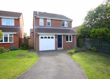 Thumbnail 3 bed detached house for sale in Clowbeck Court, Faverdale, Darlington