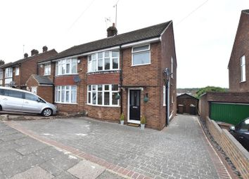 Thumbnail 3 bed semi-detached house for sale in Hillary Crescent, Luton