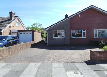 Thumbnail 3 bed semi-detached bungalow for sale in Egerton Grove, Carlisle