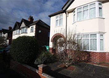 Thumbnail 3 bedroom semi-detached house for sale in Wimbledon Road, Nottingham, Nottinghamshire