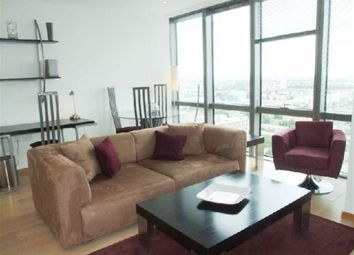 Thumbnail 1 bedroom flat to rent in No.1 West India Quay, Hertsmere Road, London