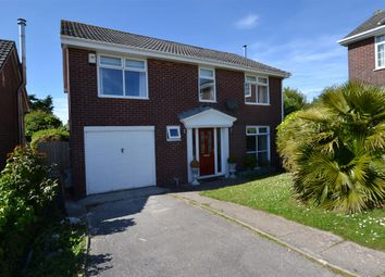Thumbnail 4 bed detached house for sale in Veasy Park, Wembury, Plymouth