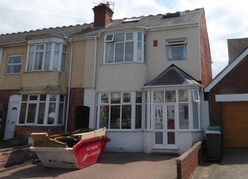 Thumbnail 4 bedroom end terrace house for sale in Devon Road, Smethwick, West Midlands