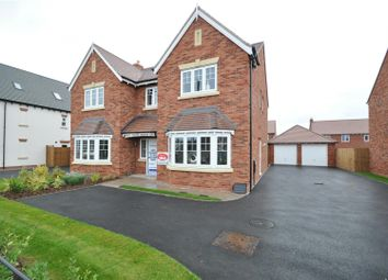 Thumbnail 5 bedroom detached house for sale in Cherry Tree Park, Ombersley Road, Worcester