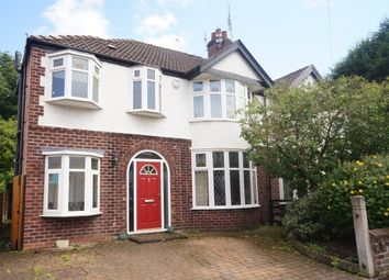 Thumbnail 4 bed property to rent in Thurleigh Road, Didsbury, Manchester