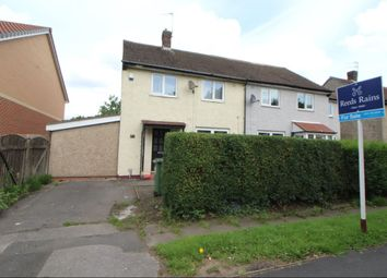 Thumbnail 2 bedroom semi-detached house for sale in Longford Road West, Reddish, Stockport
