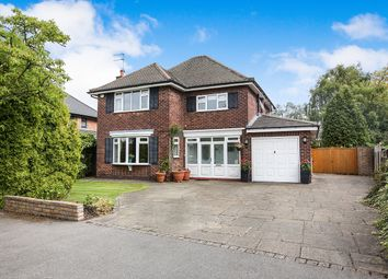 Thumbnail 4 bed detached house for sale in Redesmere Drive, Cheadle Hulme, Cheadle