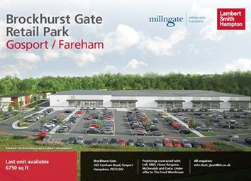 Thumbnail Retail premises to let in Brockhurst Gate, Heritage Way, Gosport, Hampshire