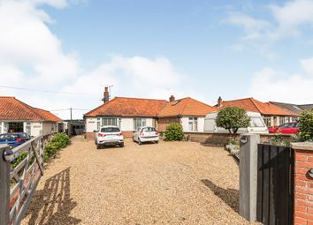 Thumbnail 1 bed semi-detached bungalow for sale in Norwich Road, Cromer