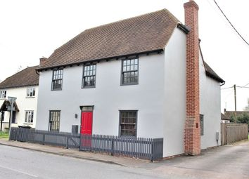 Thumbnail 4 bed detached house for sale in Stebbing, Dunmow, Essex
