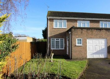 Thumbnail 4 bed semi-detached house for sale in Brewers Close, Farnborough
