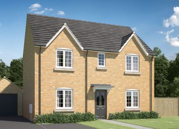 "Thumbnail 4 bedroom detached house for sale in ""The Leverton"" at Mepal Road, Sutton, Ely"