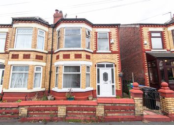 Thumbnail 3 bedroom semi-detached house for sale in Woodville Grove, Stockport