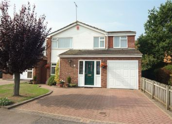 Thumbnail 4 bedroom detached house for sale in Holloway Field, Coundon, Coventry