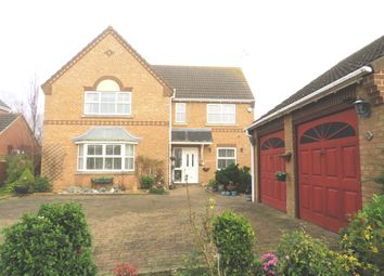 Thumbnail 4 bed detached bungalow for sale in Wimberley Close, Weston, Spalding