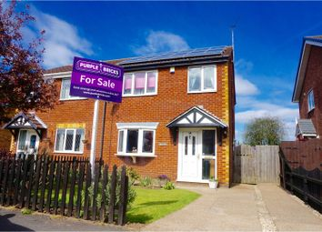 Thumbnail 3 bed semi-detached house for sale in Wentworth Crescent, New Holland, Barrow-Upon-Humber