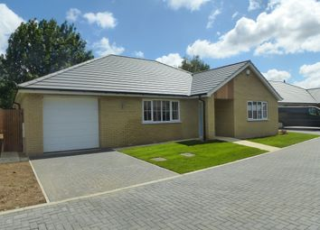 Thumbnail 3 bed detached bungalow for sale in The Bank, Parson Drove, Wisbech