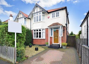 Thumbnail 3 bed semi-detached house for sale in Douglas Avenue, Whitstable, Kent