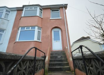 Thumbnail 3 bed semi-detached house to rent in Rea Barn Road, Brixham