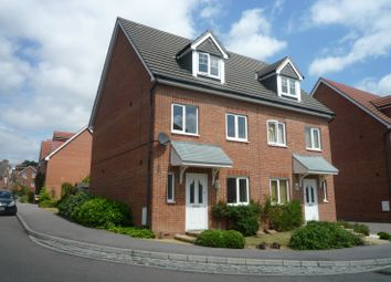 Thumbnail 4 bed end terrace house to rent in Baxendale Road, Chichester