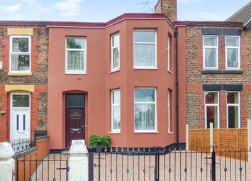Thumbnail 4 bed terraced house for sale in Park Road East, Birkenhead, Merseyside