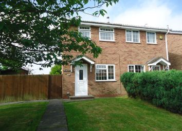 Thumbnail 2 bed semi-detached house to rent in Britannia Drive, Stretton, Burton-On-Trent