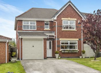 Thumbnail 4 bedroom detached house for sale in Windflower Drive, Clayton-Le-Woods, Chorley