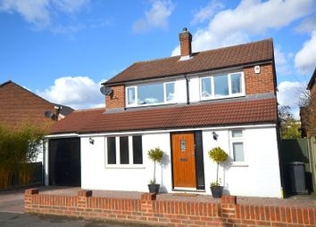 Thumbnail 4 bed detached house for sale in Chaworth Road, Ottershaw, Chertsey
