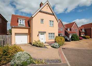 Thumbnail 3 bed detached house for sale in Cyprian Rust Way, Soham