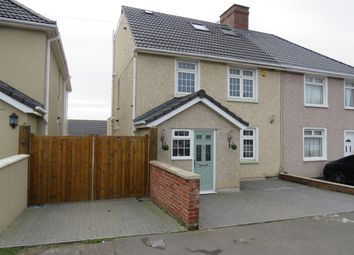Thumbnail 4 bed semi-detached house for sale in Wesley Avenue, Hanham, Bristol