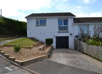 Thumbnail 3 bed semi-detached bungalow for sale in Goonrea, Looe, Cornwall