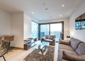 Thumbnail 1 bed flat to rent in Embassy Gardens, Nine Elms