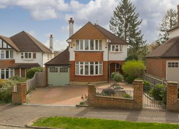 Thumbnail 4 bed detached house for sale in Hookfield, Epsom