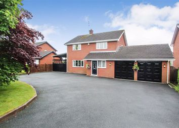 Thumbnail 4 bed detached house for sale in Perry Road, Rhewl, Gobowen, Oswestry