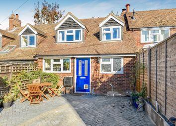Thumbnail 2 bed terraced house for sale in Sunnyside, Swan Street, Kingsclere, Hampshire