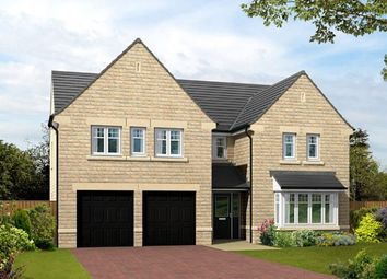 "Thumbnail 5 bed detached house for sale in ""The Dunstanburgh"" at Sykes Lane, Silsden, Keighley"