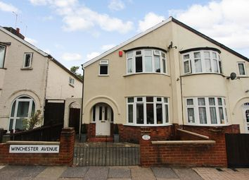 Thumbnail 3 bed semi-detached house for sale in Winchester Avenue, Leicester