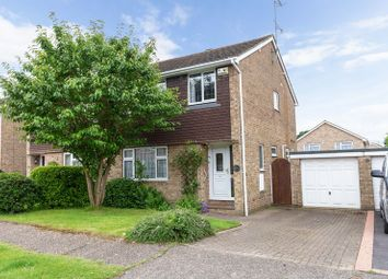 Thumbnail 3 bed semi-detached house for sale in Oak Close, Copthorne, West Sussex