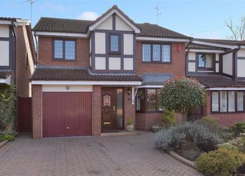 Thumbnail 4 bedroom detached house for sale in Russett Way, Brierley Hill, West Midlands