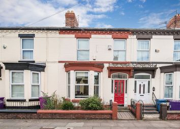 Thumbnail 4 bed terraced house for sale in Ferndale Road, Wavertree, Liverpool