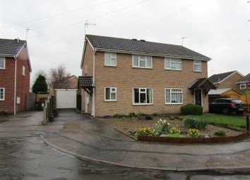 Thumbnail 3 bedroom semi-detached house for sale in Hind Close, Whetstone, Leicester