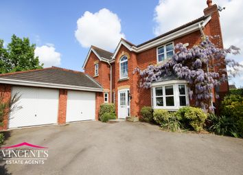 Thumbnail 4 bed detached house for sale in Shipman Road, Leicester