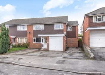 Thumbnail 4 bed semi-detached house for sale in Highfield Close, Easebourne, Midhurst