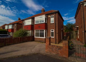 Thumbnail 3 bed semi-detached house for sale in Fallodon Gardens, Newcastle Upon Tyne