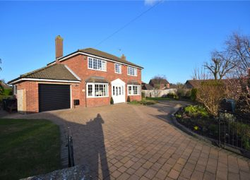 Thumbnail 4 bed detached house for sale in Florence Wright Avenue, Louth, Lincolnshire