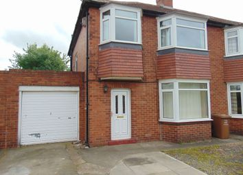Thumbnail 3 bed semi-detached house to rent in Melville Grove, High Heaton, Newcastle Upon Tyne