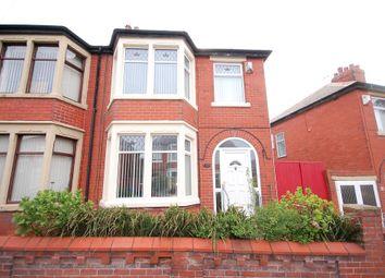 Thumbnail 3 bedroom semi-detached house for sale in Auburn Grove, Blackpool