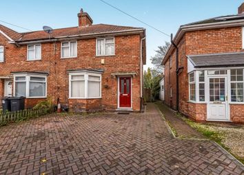 Thumbnail 2 bed semi-detached house for sale in Hornsey Road, Birmingham, West Midlands, United Kingdom